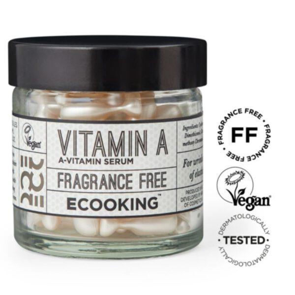 Ecooking Vitamin A Serum In Capsules - seerumikapselit 60 kpl 1
