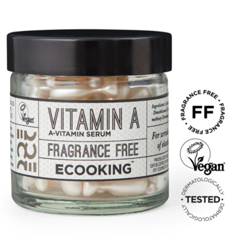 Ecooking Vitamin A Serum In Capsules - seerumikapselit 60 kpl 2