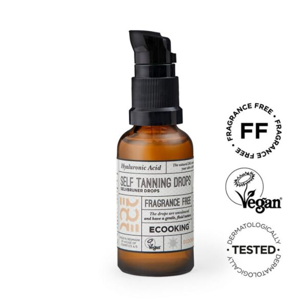 Ecooking Self Tanning Drops - itseruskettavat tipat 30ml 1