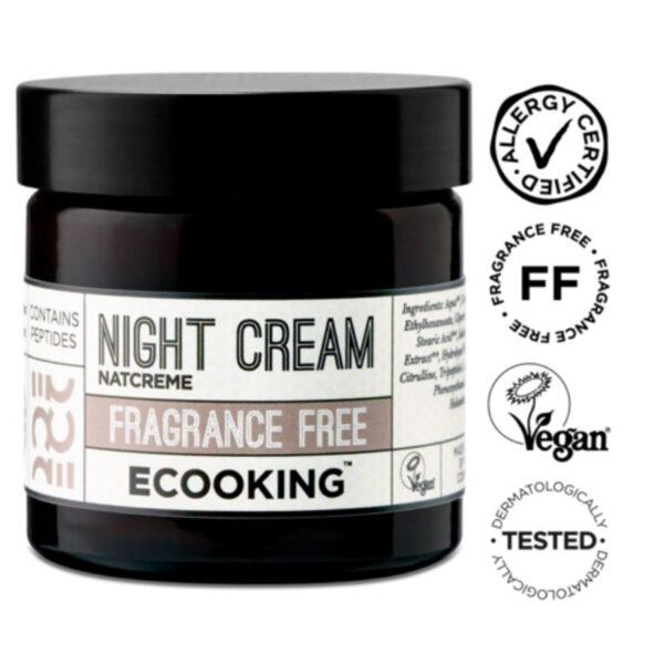 Ecooking Night Cream Fragrance Free - yövoide 50 ml 1
