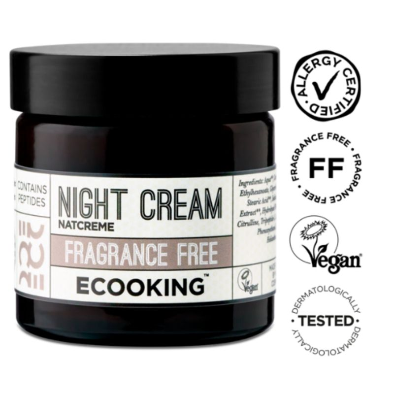 Ecooking Night Cream Fragrance Free - yövoide 50 ml 2