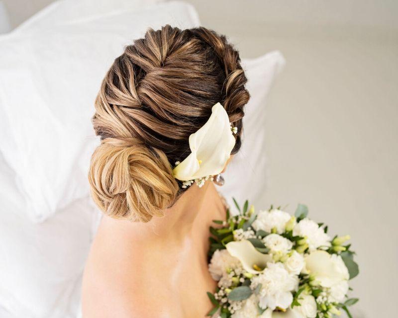 glam wedding hair kouvola