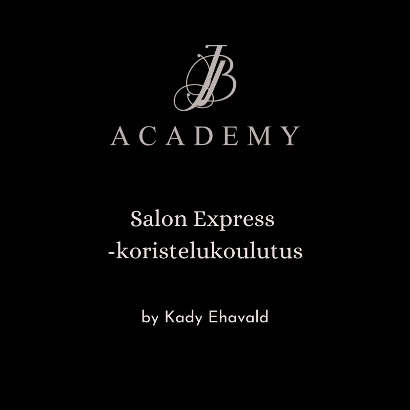 JB Academy Salon Express -koristelukoulutus by Kady Ehavald 5